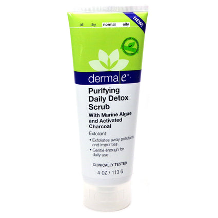 Purifying Daily Detox Scrub  by  Derma-E - 4 Ounces