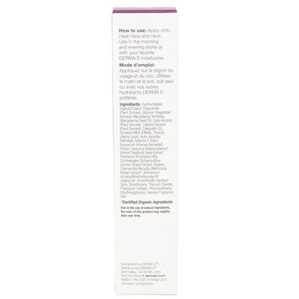 Dmae Alpha Lipoic C-Ester Serum by Derma-E - 2 Fluid Ounces