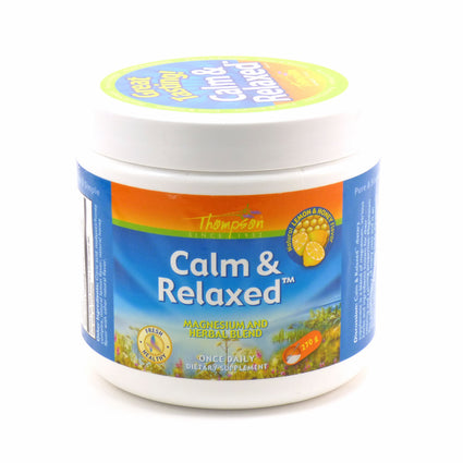 Calm & Relaxed by Thompson - 270 grams