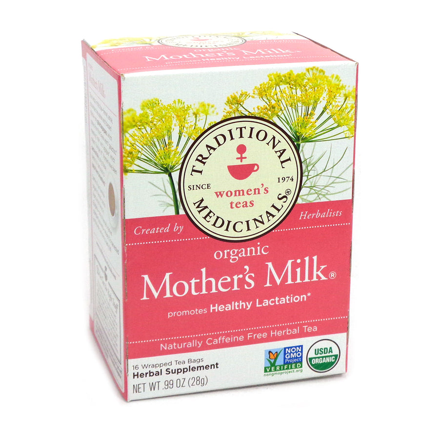 Organic Mother's Milk by Traditional Medicinals Box of 16 Bags