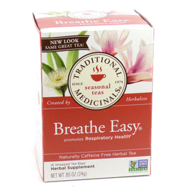 Breathe Easy by Traditional Medicinals Box of 16 Bags