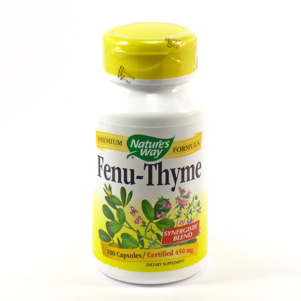 Fenu-Thyme 350 mg by Nature's Way 100 Capsules