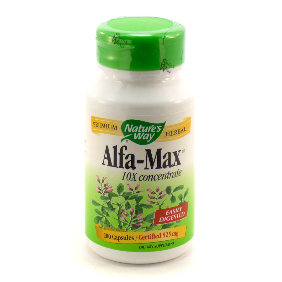 Alfa-Max 525 mg by Nature's Way 100 Capsules