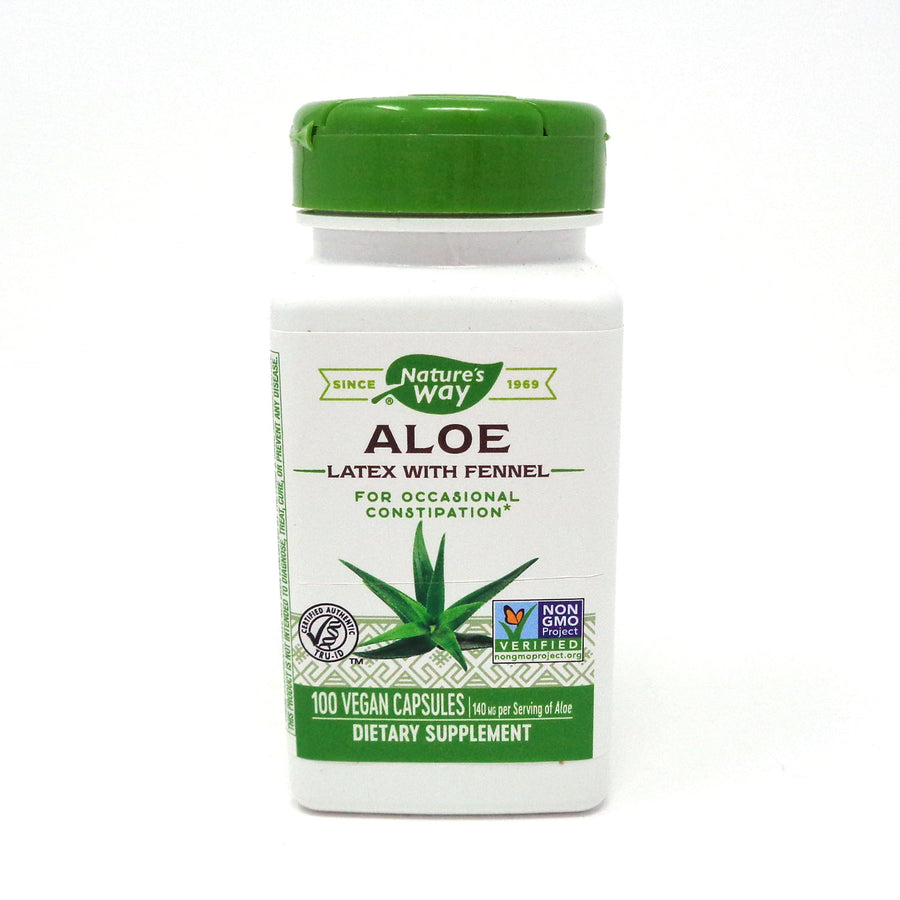 Aloe Vera by Nature's Way 100 Vegetarian Capsules