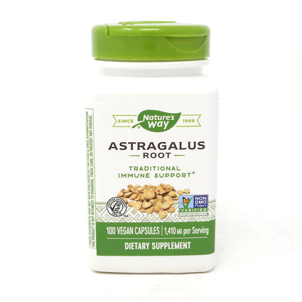 Astragalus Root 470 mg by Nature's Way 100 Capsules