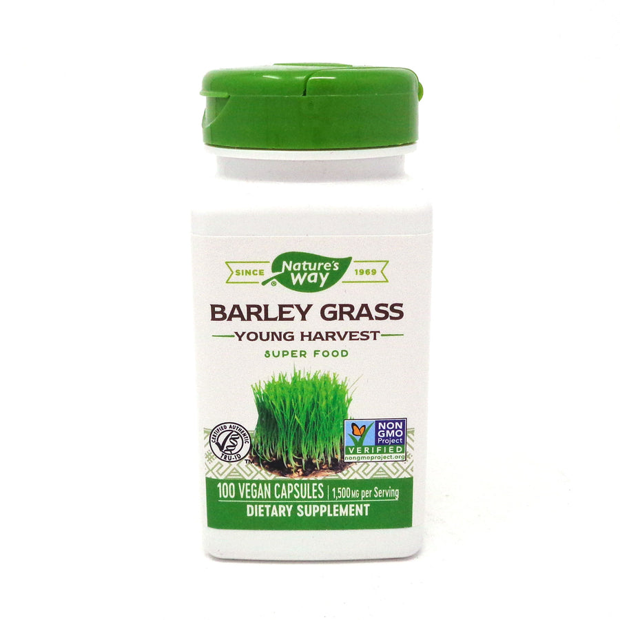 Barley Grass 500 mg by Nature's Way 100 Capsules
