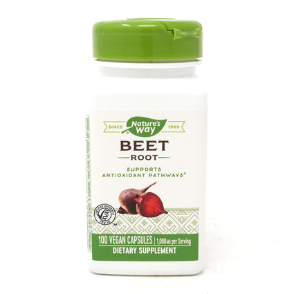 Nature's Way Beet Root Powder  - 100 Capsules