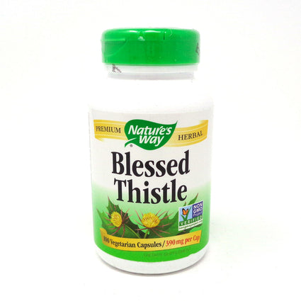 Blessed Thistle Herb 390 mg by Nature's Way 100 Capsules