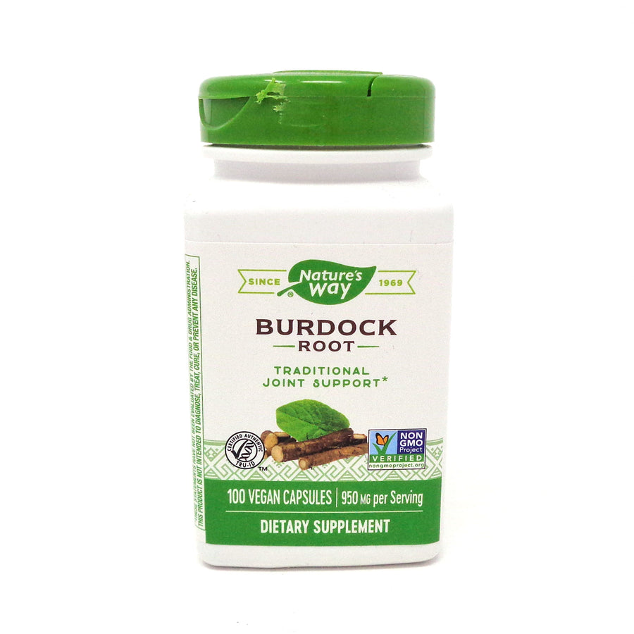 Burdock Root 475 mg by Nature's Way 100 Capsules