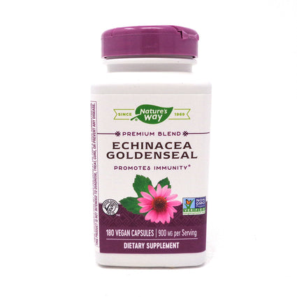 Echinacea-Goldenseal by Nature's Way - 180 Capsules