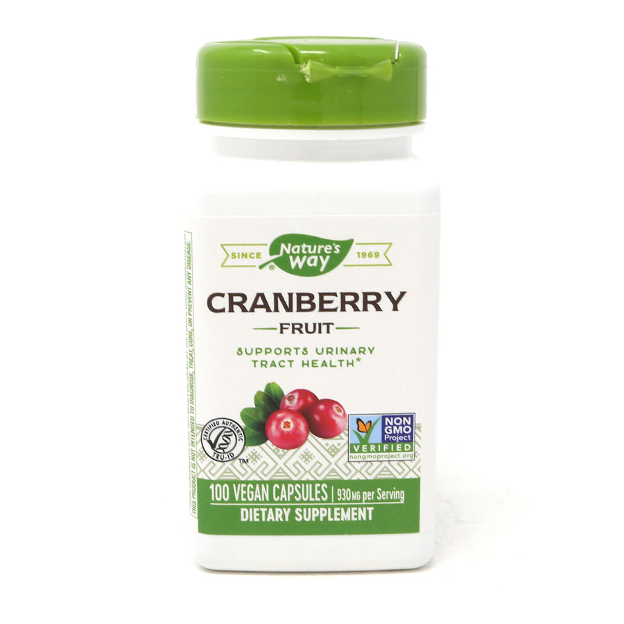 Cranberry Fruit 465 mg By Nature's Way - 100 Capsules