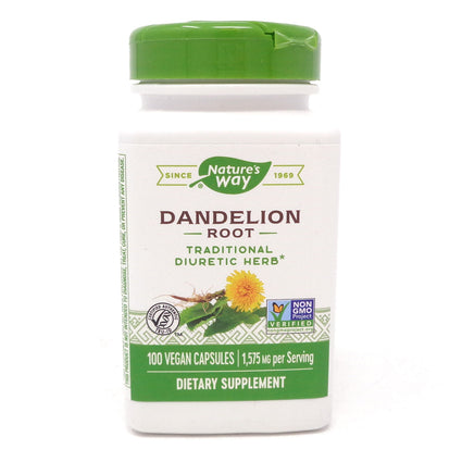 Nature's Way Dandelion Root -100 Capsules