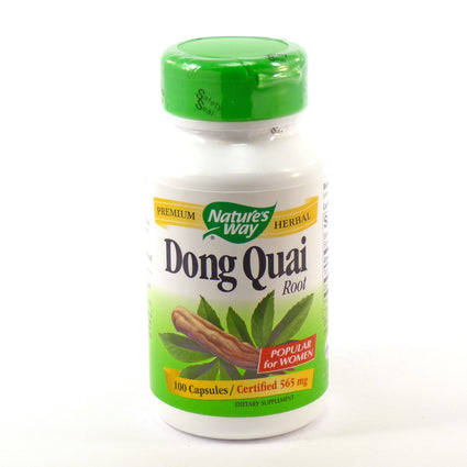 Dong Quai Root By Nature's Way 100 Capsules