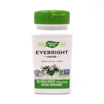 Eyebright Herb 430 mg by Nature's Way 100 Capsules