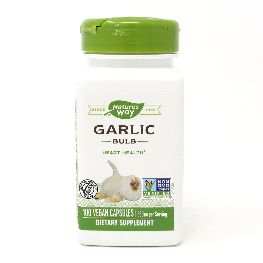 Garlic Bulb By Nature's Way - 100 Capsules