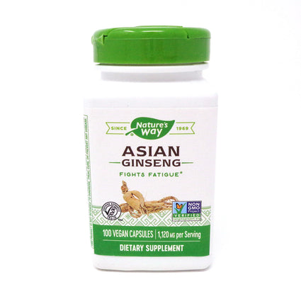 Ginseng Korean 560 mg by Nature's Way 100 Capsules
