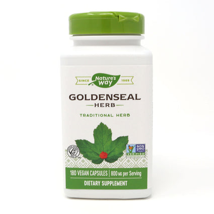 Nature's Way Goldenseal Herp - 180 Capsules