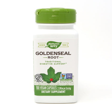 Goldenseal Root 570 mg by Nature's Way 100 Capsules