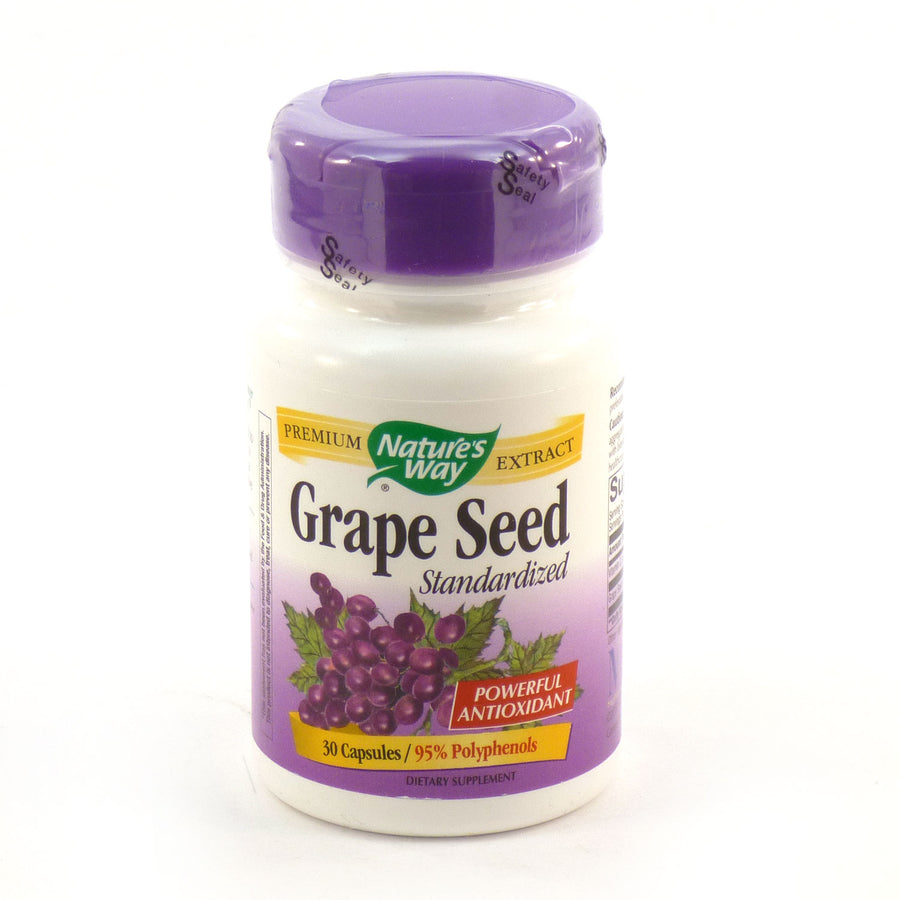Grape Seed by Nature's Way 30 Capsules