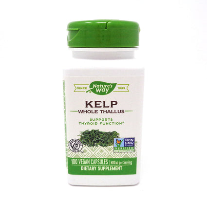 Kelp 660 mg by Nature's Way 100 Capsules