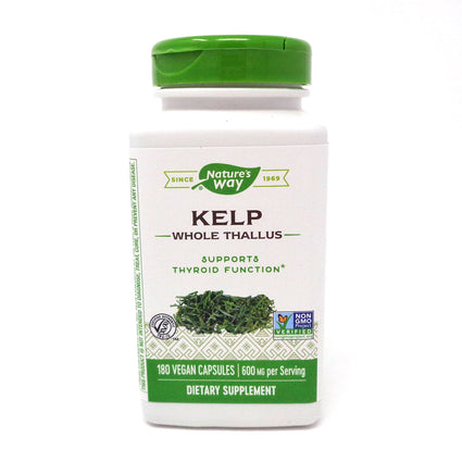 Kelp 660 mg by Nature's Way 180 Capsules