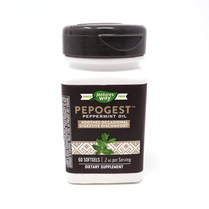 Pepogest (Peppermint Oil) by Nature's Way 60 Softgels