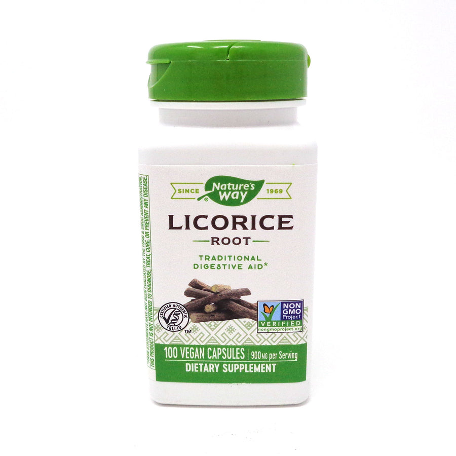 Licorice Root 450 mg by Nature's Way 100 Capsules