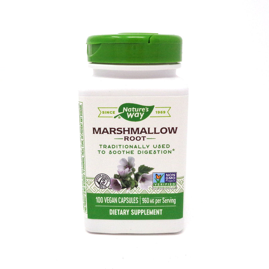 Marshmallow Root By Nature's Way - 100 Capsules