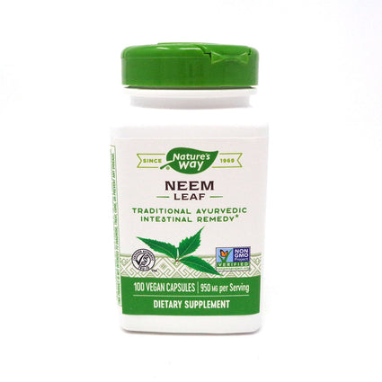 Neem Leaves by Nature's Way - 100 Capsules
