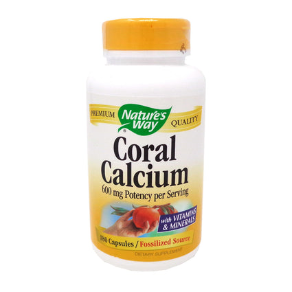 Nature's Way Coral Calcium - 180 Capsules