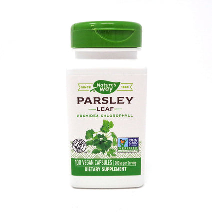 Parsley Leaf 450 mg byNature's Way 100 Capsules