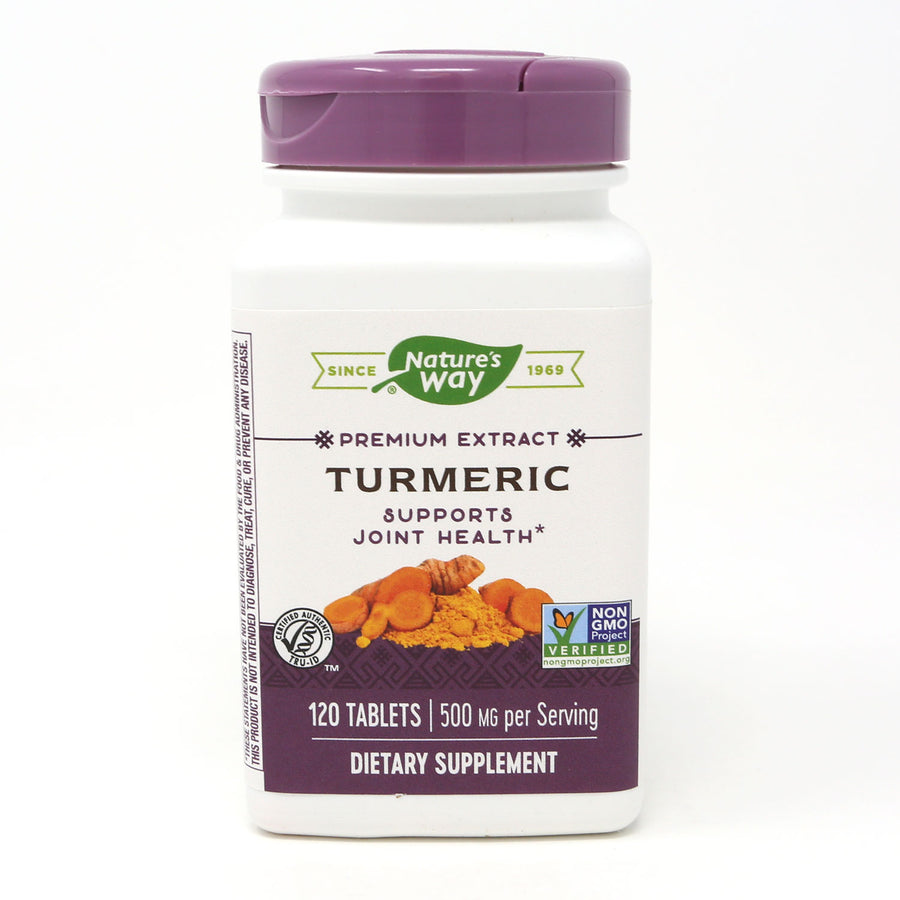 Turmeric Extract Standardized By Nature's Way - 120 Tablets