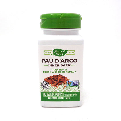 Pau d'Arco Inner Bar 545 mg by Nature's Way 100 Capsules