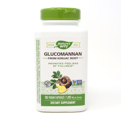 Glucomannan by Nature's Way - 180 Capsules