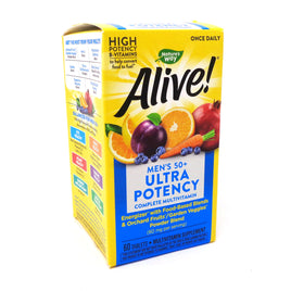 Alive Once Daily Men's 50+ By Nature's Way - 60 Tablets