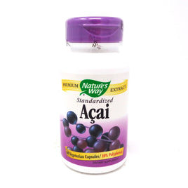 Standardized Acai by Nature's Way 60 Vegetarian Capsules