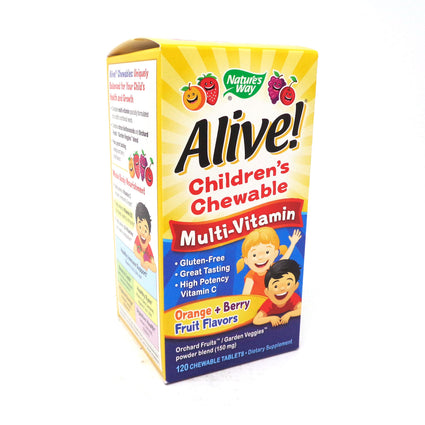 Alive! Children's Chewable by Nature's Way - 120 Tablets