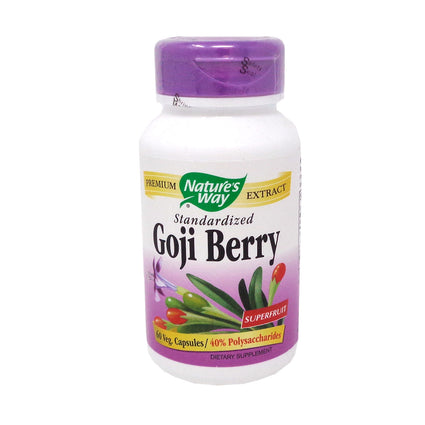 Goji Berry by Nature's Way 60 Vegetarian Capsules
