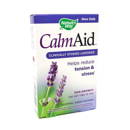 Calm Aid By Nature's Way - 30 Capsules