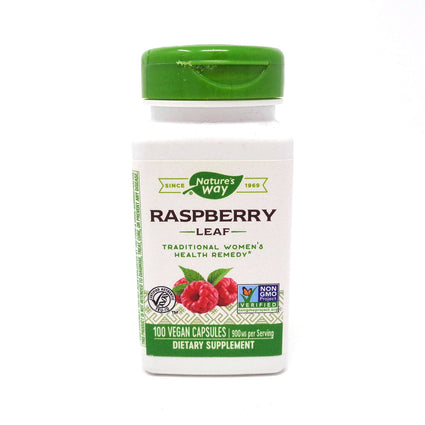 Red Raspberry Leaves 480 mg by Nature's Way 100 Capsules