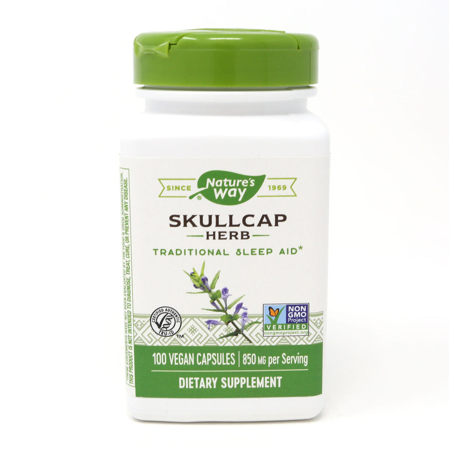 Scullcap Herb by Nature's Way - 100 Capsules