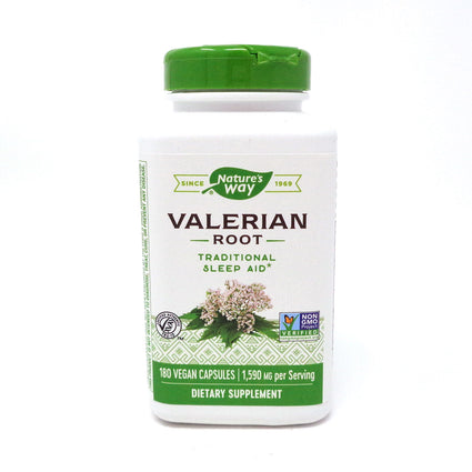 Valerian Root 530 mg by Nature's Way 180 Capsules