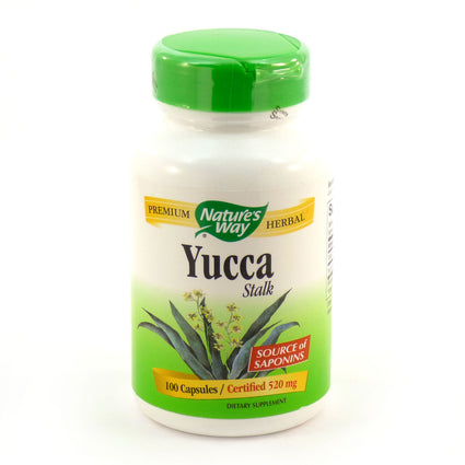 Yucca Stalk by Nature's Way - 100 Capsules