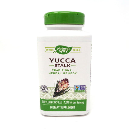 Yucca Stalk By Nature's Way - 180 Capsules