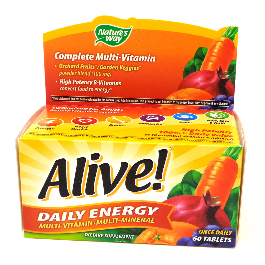 Alive! Daily Energy 60 tablets
