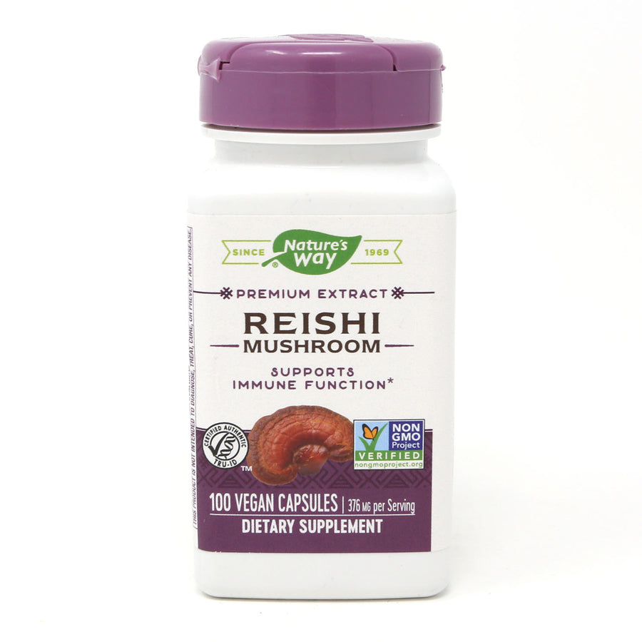 Reishi by Nature's Way 100 Capsules