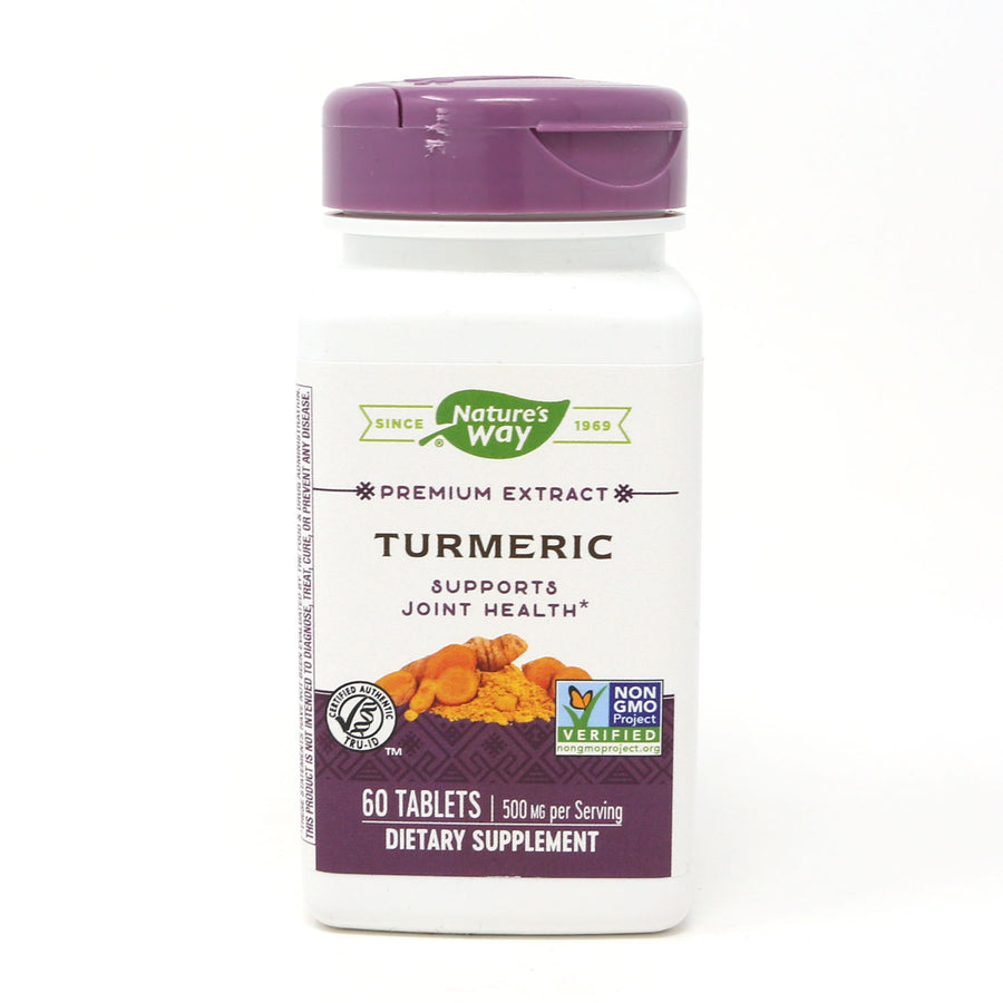 Standardized Turmeric by Nature's Way 60 Tablets