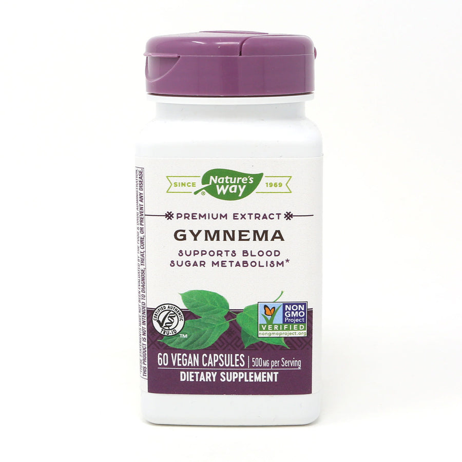 Standardized Gymnema by Nature's Way 60 Capsules
