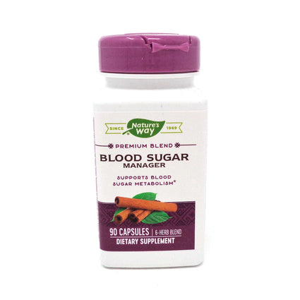 Nature's Way Blood Sugar Metabolism Blend - 90 Capsules
