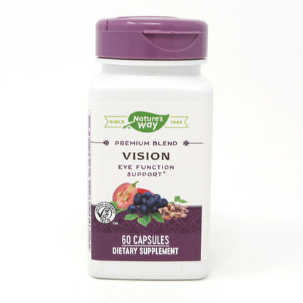 Nature's Way Vision Eye Function Support - 60 Capsules